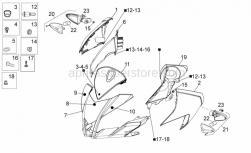Frame - Front Body I - Aprilia - Hex socket screw