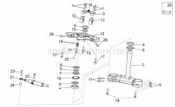 Frame - Steering - Aprilia - HANDLEBARS ASSY