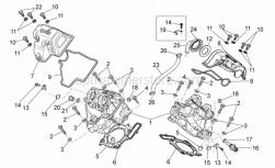 Engine - Cylinder Head - Aprilia - Oil unload plug