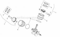 Engine - Cylinder With Piston - Aprilia - THERMODYNAMICS