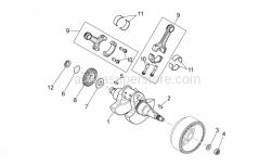 Engine - Drive Shaft - Aprilia - Pinion