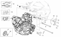 Engine - Engine - Aprilia - Chain guide