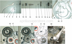 Engine - Starter Assembly - Aprilia - SPHERE
