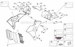 Frame - Front Body II - Aprilia - LH Sponge