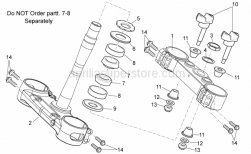 Frame - Steering - Aprilia - STEER.UPP.BEAR.LOW.TRACK