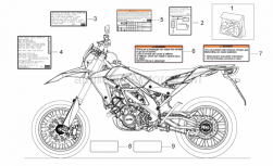 Frame - Decal - Aprilia - Decal