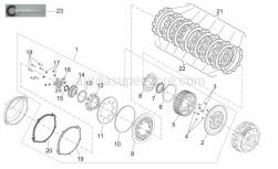 Engine - Clutch II - Aprilia - LOCK WASHER