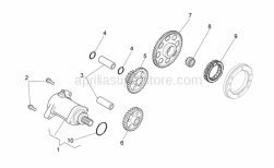 Engine - Starter Motor - Aprilia - ASSEMBLY 1# STARTER REDUCTION