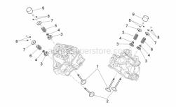 Engine - Valves - Aprilia - Upper cup