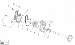 Engine - Water Pump - Aprilia - O-ring D18x1,8