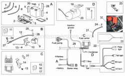 Frame - Electrical System Ii - Aprilia - Tearing rivet inox