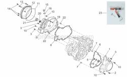 Engine - Crankcase Ii - Aprilia - Circlip D25