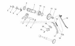 Engine - Front Cylinder Timing System - Aprilia - Block