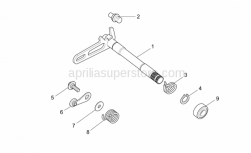 Engine - Gear Box Selector I - Aprilia - Spring