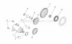 Engine - Starter Motor - Aprilia - Double gear Z=9/55