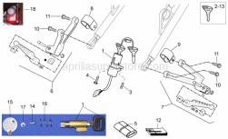 Frame - Completing Part - Aprilia - Hex socket screw M8x16