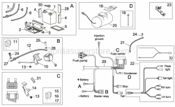 Frame - Electrical System Ii - Aprilia - Gasket