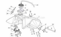 Frame - Fuel Tank - Aprilia - Rubber spacer 26x12,2