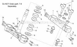 Frame - Steering I - Aprilia - Fairlead