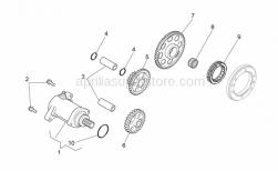Engine - Starter Motor - Aprilia - Intermediate gear Z=22