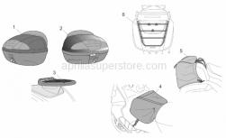 Rear saddlebag
