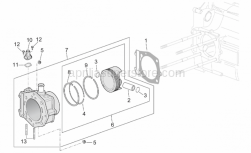 Engine - Cylinder - Aprilia - Piston assy cat2