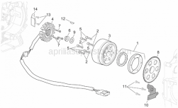 Engine - Ignition Unit - Aprilia - Screw M6x30