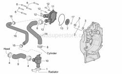 Water pump impeller cpl. SUPERSEDED BY 827929