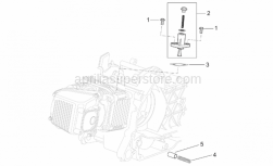 Engine - Chain Tensioner - Aprilia - Valve spring