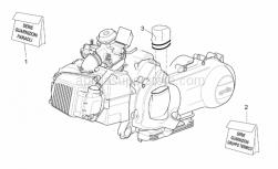 Engine - Engine - Gaskets - Aprilia - Cylinder gasket kit