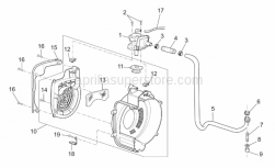 Engine - Secondary Air - Aprilia - Self-tap screw 3x20