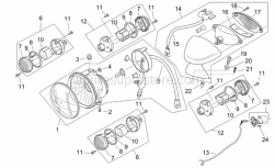Aprilia - Chromed ring nut - Image 1