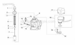 Aprilia - Air fuel screw - Image 1