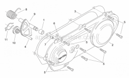 Engine - Cover - Kick Starter - Aprilia - Gasket