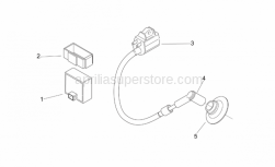 Engine - Ignition Unit - Aprilia - Rubber wiring