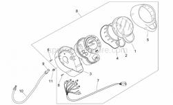 Frame - Dashboard - Aprilia - Diffuser shield