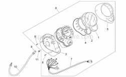 Frame - Dashboard - Aprilia - Lower shell