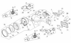 Frame - Usa Lights - Aprilia - R.support turn indicator