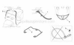 Genuine Aprilia Accessories - Acc. - Various - Aprilia - Side guard