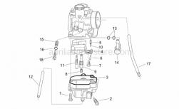 Engine - Carburettor Ii - Aprilia - O-ring