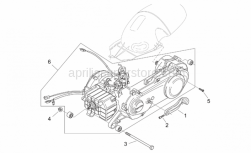 Engine - Engine - Aprilia - Screw m10x190