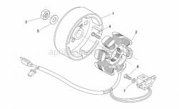 Aprilia - Nut m10x1,25 - Image 1