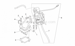 Engine - Fuel Supply - Aprilia - Carburettor