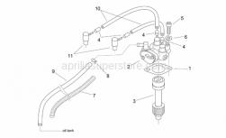 Engine - Oil Pump - Aprilia - Oil pipe