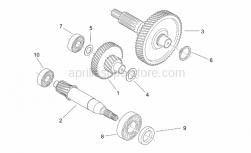 Engine - Reduction - Aprilia - RH Thrust washer