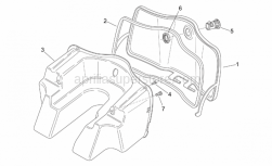 Frame - Central Body I - Aprilia - Glove holder