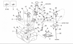 Frame - Fuel Tank - Aprilia - Hose clip D16,5X6,6