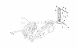 Frame - Rear Shock Absorber - Aprilia - Bush