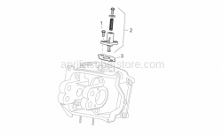 Engine - Chain Tensioner - Aprilia - Chain tensioner gasket