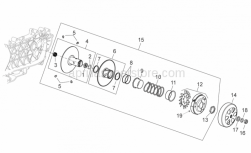 Engine - Clutch - Aprilia - Roller cage 20x29x18